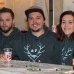 Bar-Teams bei der Krampusnacht 2018 Wagrain